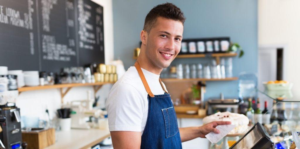 Café-Mitarbeiter