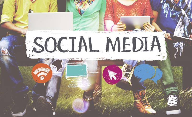 Social Media Plakat